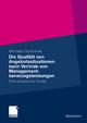 Die Qualität von Angebotssituationen beim Vertrieb von Managementberatungsleistungen - Michaela Skobranek