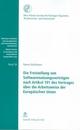 Die Freistellung von Softwarenutzungsverträgen nach Artikel 101 des Vertrages über die Arbeitsweise der Europäischen Union - Reemt Matthiesen