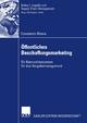 Öffentliches Beschaffungsmarketing - Constantin Blome