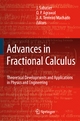 Advances in Fractional Calculus - J. Sabatier; O. P. Agrawal; J. A. Tenreiro Machado