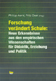 Forschung verändert Schule - Philipp Aerni; Fritz Oser