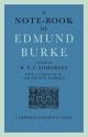 A Note-Book of Edmund Burke - H. V. F. Somerset