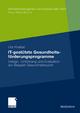 IT-gestützte Gesundheitsförderungsprogramme - Uta Knebel