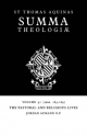 Summa Theologiae: Volume 47, the Pastoral and Religious Lives