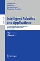 Intelligent Robotics and Applications - Honghai Liu; Han Ding; Zhenhua Xiong; Xiangyang Zhu