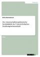 Die wissenschaftpropädeutische Fachdidaktik des Unterrichtsfaches Erziehungswissenschaft - Britta Wertenbruch
