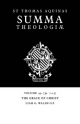 Summa Theologiae: Volume 49, the Grace of Christ