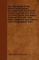 The Nine Books Of The History Of Herodotus, Translated From The Text Of Thomas Gaisford, D.D. Dean Of Christ Church, And Regius Professor Of Greek. ... And Critical, And A Geographical Index