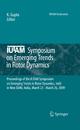 IUTAM Symposium on Emerging Trends in Rotor Dynamics - K. Gupta