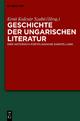 Geschichte der ungarischen Literatur - Ernö Kulcsár Szabó