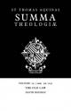 Summa Theologiae: Volume 29, the Old Law