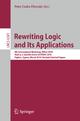 Rewriting Logic and Its Applications - Peter Csaba Ölveczky
