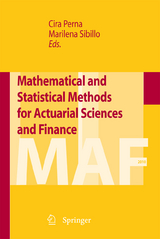 Mathematical and Statistical Methods for Actuarial Sciences and Finance -