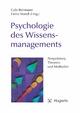 Psychologie des Wissensmanagements - Gabi Reinmann; Heinz Mandl