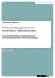 Vertrauensmanagement in der betrieblichen Misstrauenskultur - Johannes Förster