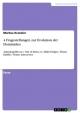 4 Fragestellungen zur Evolution der Hominiden - Markus Kranzler