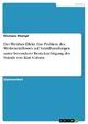 Der Werther-Effekt. Das Problem des Medieneinflusses auf Suizidhandlungen unter besonderer Berücksichtigung des Suizids von Kurt Cobain Clemens Stamp