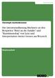 Die Literaturauffassung Büchners an den Beispielen 'Brief an die Familie' und 'Kunstmonolog' von Lenz und Interpretation zweier Szenen aus Woyzeck - Christoph Aschenbrenner