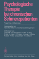 Psychologische Therapie bei chronischen Schmerzpatienten