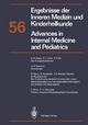 Ergebnisse der Inneren Medizin und Kinderheilkunde / Advances in Internal Medicine and Pediatrics