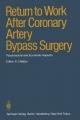 Return to Work After Coronary Artery Bypass Surgery