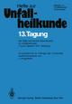13. Tagung der Österreichischen Gesellschaft für Unfallchirurgie - J. Poigenfürst