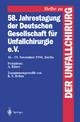 58. Jahrestagung der Deutschen Gesellschaft für Unfallchirurgie e.V.