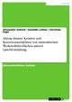 Abtrag dünner Krusten und Korrosionsschichten von mineralischen Werkstoffoberflächen mittels Laserbestrahlung - Alexander Schnell;  Goretzki Lothar;  Christian Kaps