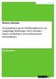 Systematisierung der Einflussfaktoren auf langfristige Wirkungen des Customer Equity im Rahmen telemedizinischer Innovationen - Markus Schneider