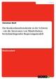 Die Konkordanzdemokratie in der Schweiz - ein die Interessen von Minderheiten berücksichtigendes Regierungsmodell - Christian Wolf