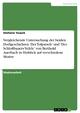 Vergleichende Untersuchung der beiden Dorfgeschichten 'Der Tolpatsch' und 'Des Schloßbauers Vefele' von Berthold Auerbach in Hinblick auf verschiedene Motive - Stefanie Teusch