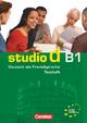 """studio d - Grundstufe / B1: Gesamtband - Testheft B1 mit Modelltest """"Zertifikat Deutsch"""""""