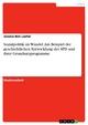 Sozialpolitik im Wandel. Am Beispiel der geschichtlichen Entwicklung der SPD und ihrer Grundsatzprogramme - Jessica Ben Lasfar