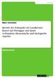 Betrieb des Fuhrparks des Landkreises Kassel mit Flüssiggas und damit verbundene ökonomische und ökologische Aspekte - Marc Schoelzel