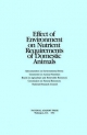 Effect of Environment on Nutrient Requirements of Domestic Animals