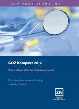 goz kompakt 2012 von christine baumeister henning isbn 978 3 941169 38 8 fachbuch. Black Bedroom Furniture Sets. Home Design Ideas