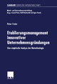 Etablierungsmanagement innovativer Unternehmensgründungen