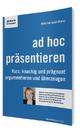 ad hoc präsentieren - Anita Hermann-Ruess