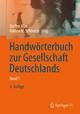Handwörterbuch zur Gesellschaft Deutschlands - Steffen Mau; Nadine M. Schöneck-Voß