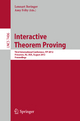 Interactive Theorem Proving - Lennart Beringer; Amy Felty
