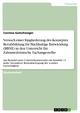Versuch einer Eingliederung des Konzeptes Berufsbildung für Nachhaltige Entwicklung (BBNE) in den Unterricht für Zahnmedizinische Fachangestellte - Corinna Gutschwager