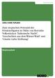 Zum utopischen Potenzial der Fräulein-Figuren in Ödön von Horváths Volksstücken 'Italienische Nacht', 'Geschichten aus dem Wiener Wald' und 'Glaube Liebe Hoffnung' - Julia Linda Schulze