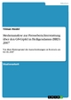 Medienanalyse zur Presseberichterstattung über den G8-Gipfel in Heiligendamm (BRD) 2007 - Tilman Riedel