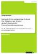 Kulturelle Wirtschaftsprüfung (Cultural Due Diligence) am Beispiel deutsch-französischer Unternehmenskooperationen - Anne Hermann
