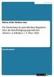 Die Entstehung des preußischen Regulativs über die Beschäftigung jugendlicher Arbeiter in Fabriken v. 9. März 1839 - Nikola Arldt; Bettina Istas
