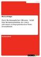 Partei Rechtsstaatlicher Offensive - Schill. Eine Bestandsaufnahme der ersten relevanten rechtspopulistischen Partei Deutschlands - Marcus Dräger