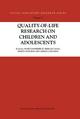 Quality-of-Life Research on Children and Adolescents - Anne Dannerbeck; Ferran Casas; Marta Sadurni; Germa Coenders