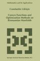 Convex Functions and Optimization Methods on Riemannian Manifolds - Constantin Udriste