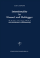 Intentionality in Husserl and Heidegger - B.C. Hopkins