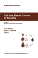Cell and Tissue Culture in Forestry - Jan M. Bonga; D. J. Durzan
